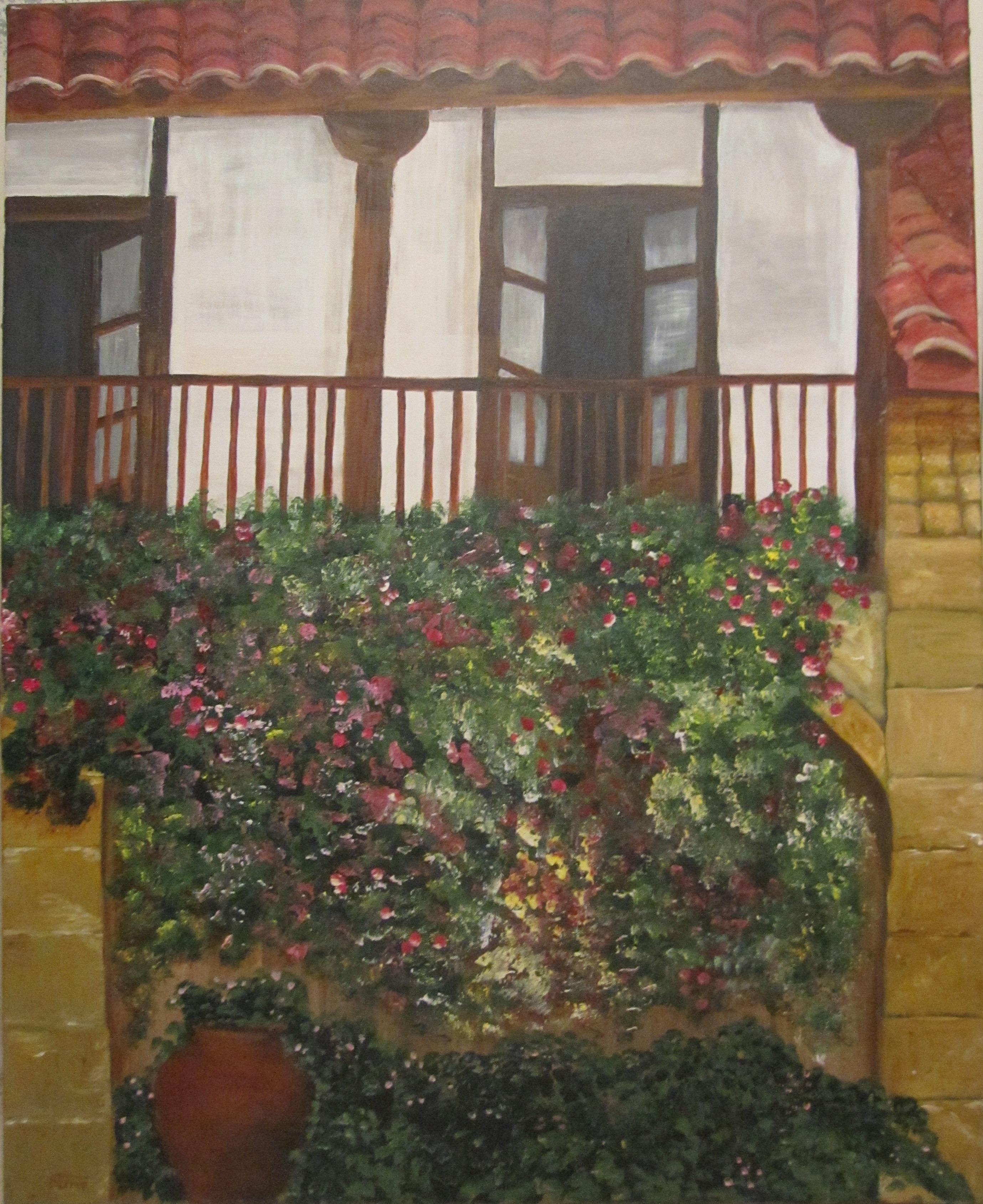Acr lico sobre lienzo galeria de pintura manuela ferrer - Acrilico sobre lienzo ...